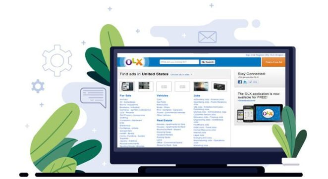 OLX - Classified ad posting site