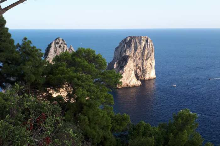 CAPRI TOUR BY BOAT FROM SORRENTO