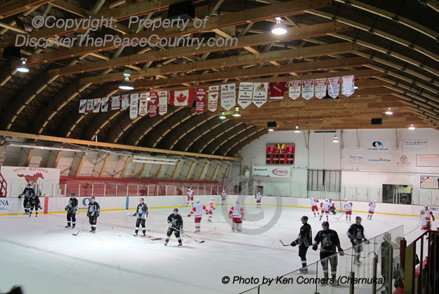 Hythe Alberta Hythe Arena Picture Photo Of Inside Rink