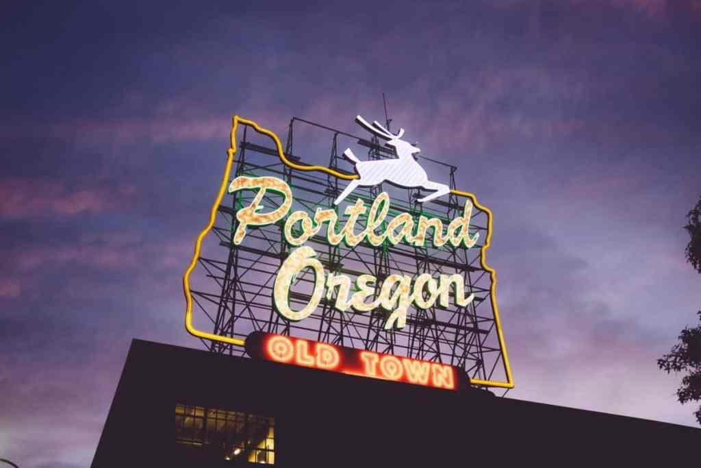 Portland Oregon Pacific Northwest road trip