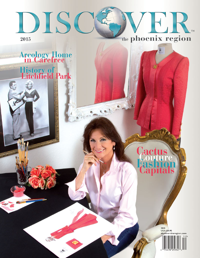 2015 Discover The Phoenix Region Cover