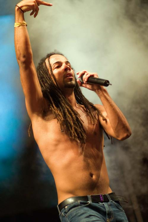 Soca and fusion singer Kees Dieffenthaller of KES the Band. Photo: Triniwaves