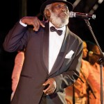 Former Calypso Monarch, the Mighty Shadow (Winston Bailey). Photographer: Mark Lyndersay