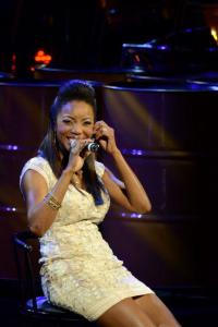 Headley performing at the HOME concert at NAPA in Trinidad. Photographer: James Wallace, courtesy Heather Headley