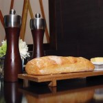Ciabatta bread at the Hyatt Regency in Port of Spain. Photographer: Desiree McEachrane