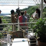"Filming the ""Iere Vibe"" television series in Trinidad. Photographer: Caroline Taylor"