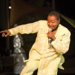 Tobago-born legend Calypso Rose. Photographer: Mark Lyndersay