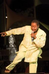 Tobago-born legend Calypso Rose. Photographer: Mark Lyndersay