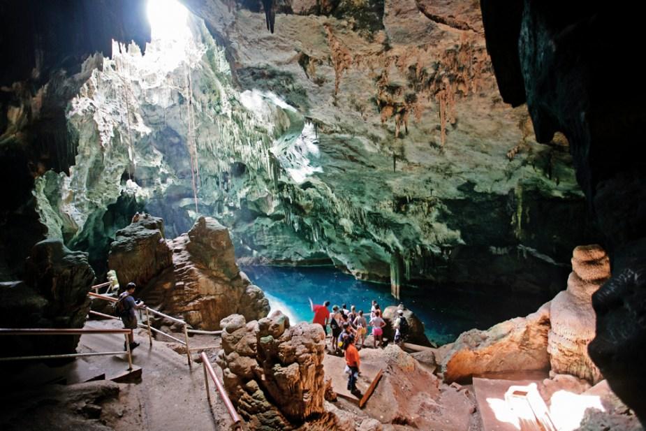 The Gasparee Caves, Trinidad. Photo: Stephen Broadbridge
