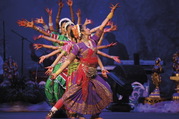Divali Nagar dancers. Photo by Chris Anderson