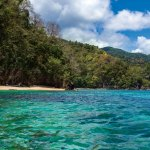 Lover's Bay is a hidden gem accessible only by boat. Photo by Nyla Singh
