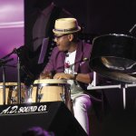 Etienne Charles performs at the Tobago Jazz Experience. Photo courtesy Toucan/THA