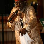 Calypsonian The Black Stalin. Photo by Stephen Broadbridge