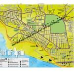 Trinidad Map. Copyright MEP Publishers 2017