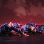 Members of La Danse Caraibe perform at Queen's Hall. Photo by Marcus Antoine