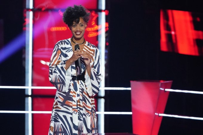 Payge Turner in the Battle Rounds of The Voice