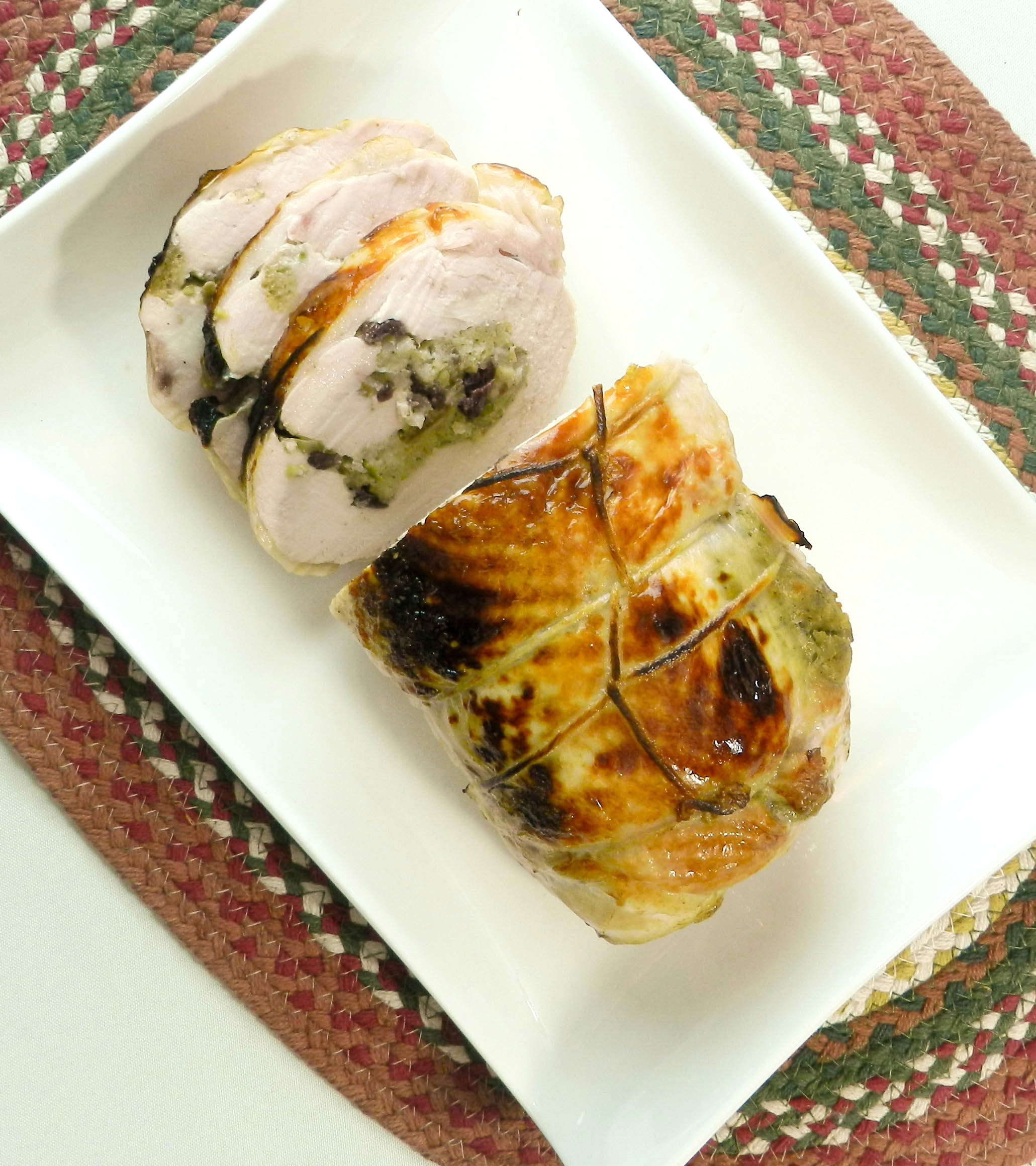 Turkey breast roulade spending superfluous