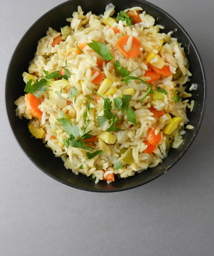 orzo and rice pilaf
