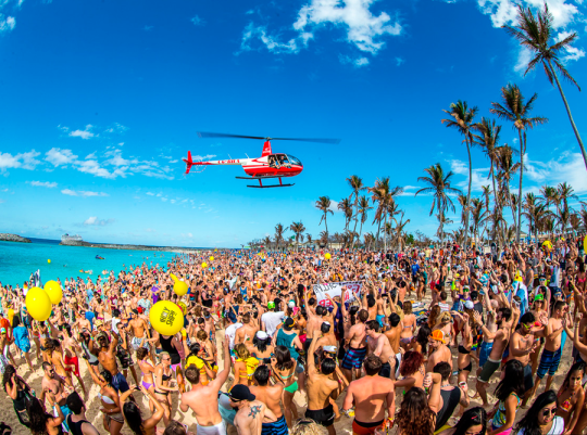 This is one of the best spring break destinations for college students!