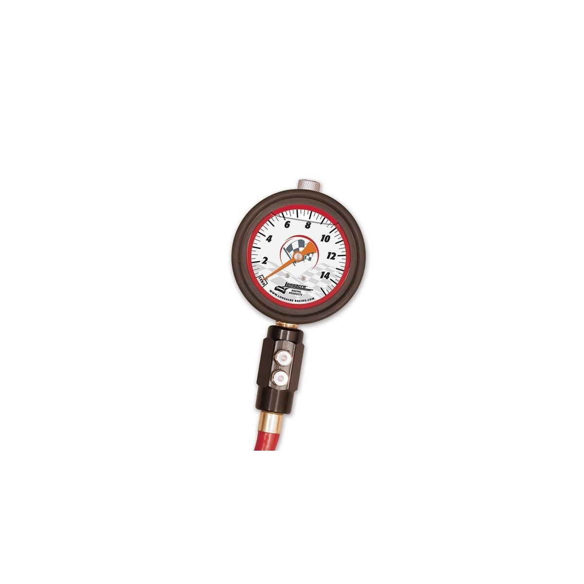 Longacre 0 15 By Lb Liquid Filled 2 Tire Gauge