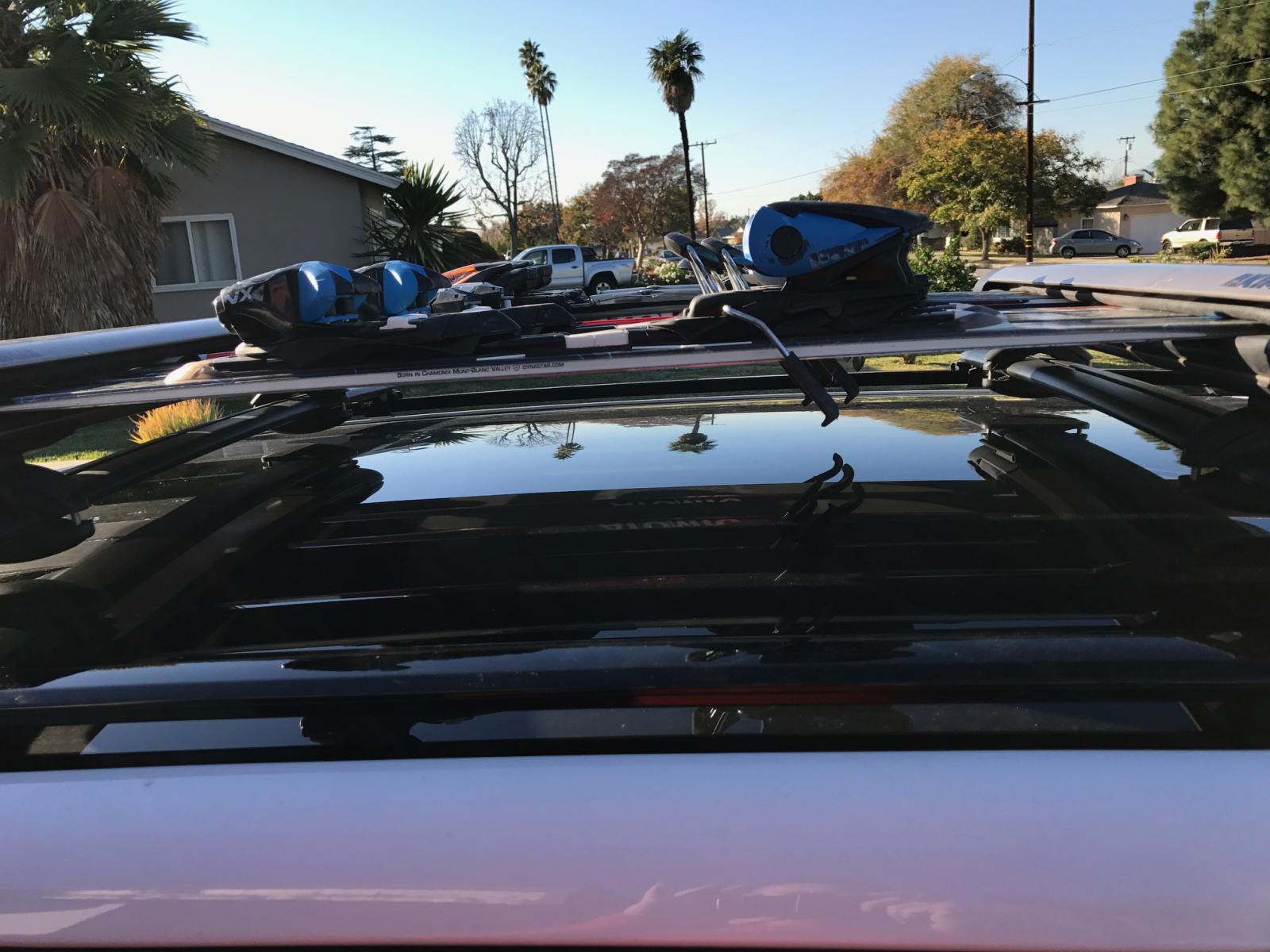 Rack Thule Noise Reduction Roof
