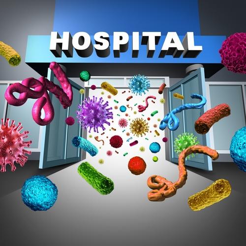 Com o hospital infectado, em vez de limpar e esterilizar, aplicaram doses cavalares de antibióticos nos pacientes