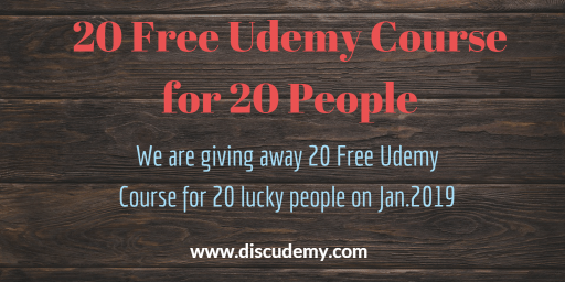 20 Udemy Course For 20 People