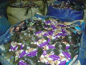 CD recycling