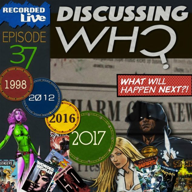 Discussing Who Episode 37