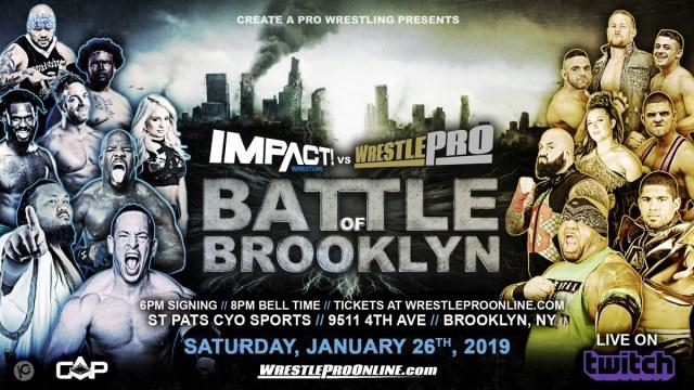 Impact vs WrestlePro | Battle of Brooklyn Results