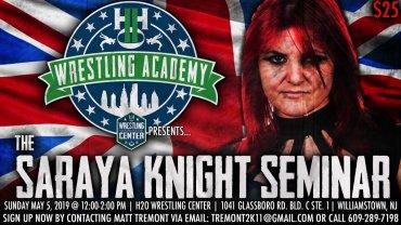 Saraya Knight Seminar