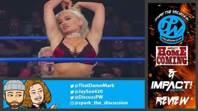 Spark The Discussion | Homecoming | Impact/Twitch Debut