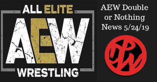 AEW Double Or Nothing News