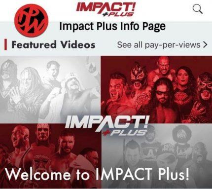 Impact Plus Information Page