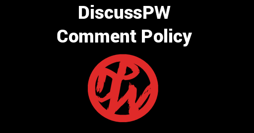 DiscussPW Comment Policy