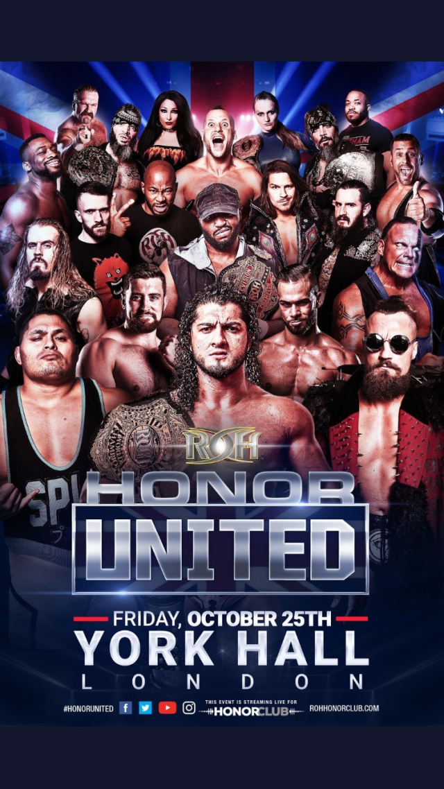 Honor United London | Ring of Honor