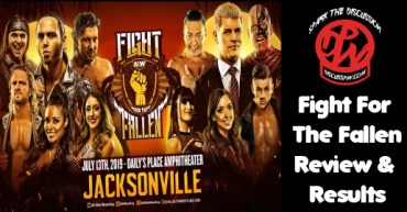 AEW Fight Fallen results
