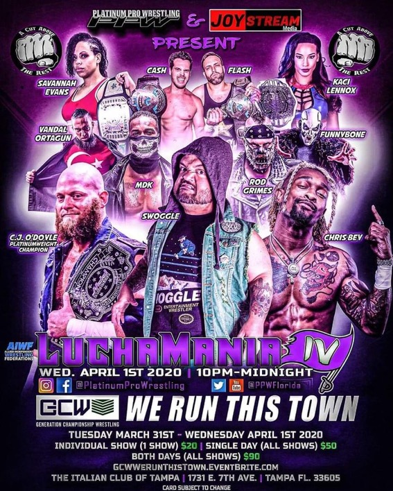 GCW We Run This Town | Generation Championship Wrestling