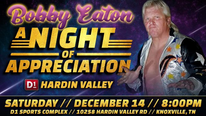 Bobby Eaton Appreciation Night