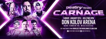 Destiny Wrestling Carnage 2020