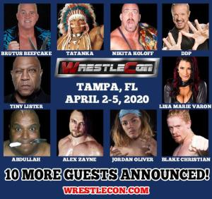 wrestlecon guests