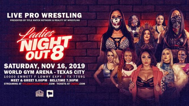 Title Match Network Posts Some Ladies Night Out 8 Matches | News