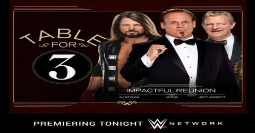 Impact WWE table