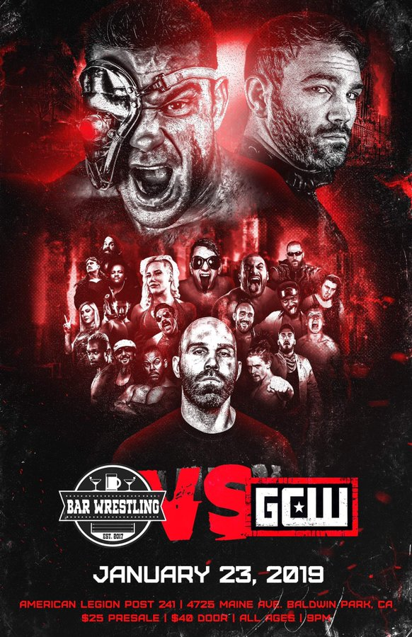 First Matches Announced For GCW vs Bar Wrestling | News