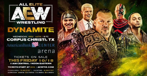 Low Ticket Sales For AEW Dynamite In Corpus Christi | News