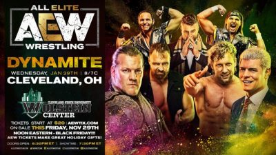 AEW Ticket Sales For Ohio Debut Are Not Good   News