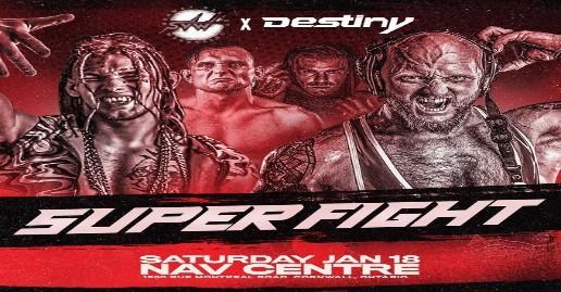 Destiny Super Fight World Title Match Announced | News