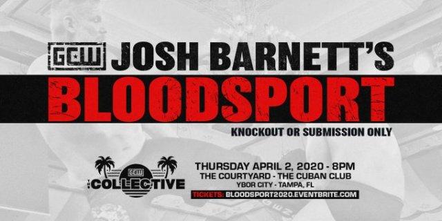 Tickets On Sale For Josh Barnett's Bloodsport | News