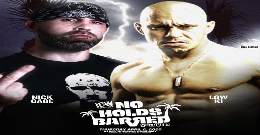 Nick Gage vs Low Ki Announced For ICW No Holds Barred 2 | News
