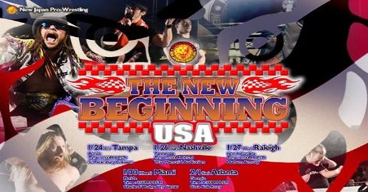 NJPW New Beginning USA Match Lineups   News